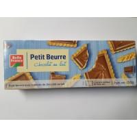 Petit Beurre mit Milchschokolade 150 g. BF 12 stk. pro Karton