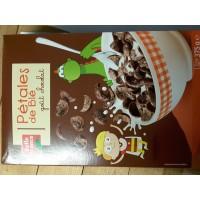 Flakes aus Weizenvollkorn Schokoladengeschmack 375 g. BF 7 stk. pro Karton
