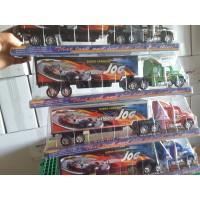 Lastwagen mit Container Formel 1 48cm 4 Farben