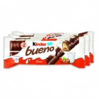 Kinder Bueno 6 * 2 barres 43 g. (0.85/pce) 10 stk, pro Karton