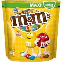M&M'S Erdnüsse maxi Tüte 200 g. 27 stk. pro Karton